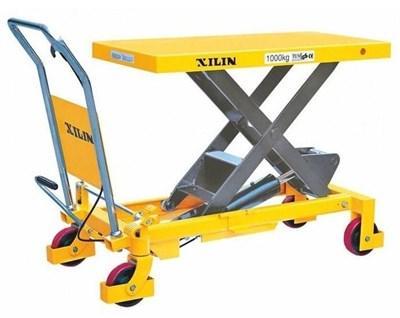 Гидравлический подъемный ножничный стол Ningbo Ruyi SP 1500, г/п 1500 кг, 420/1000 мм - фото 31623