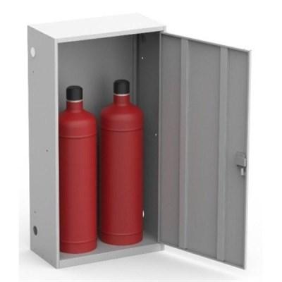 Шкаф металлический для двух газовых баллонов Металл-Завод ШГР ШГР 50-2 - фото 31956