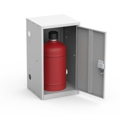 Шкаф металлический для одного газового баллона Металл-Завод ШГР ШГР 27-1 - фото 31957