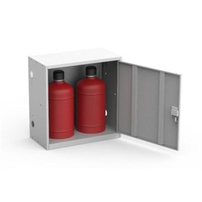 Шкаф металлический для двух газовых баллонов Металл-Завод ШГР ШГР 27-2 - фото 31958