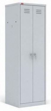 Металлический шкаф для одежды ПАКС-МЕТАЛЛ ШРМ АК-500 (гардербный) - фото 32155