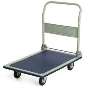Складная платформенная тележка PH-300/125 (металл/резина) - фото 32289