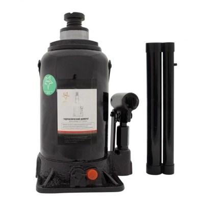 Гидравлический бутылочный двух штоковый домкрат 32 тн (ДГ32 БАК) - фото 32297