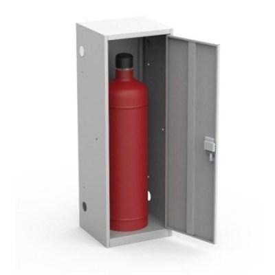Шкаф металлический для одного газового баллона Металл-Завод ШГР 50-1 - фото 32315