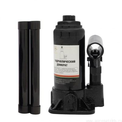 Гидравлический бутылочный домкрат ДГ-8, 8,0 тн  БАК (в кейсе) - фото 32501