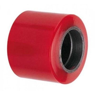 Ролик ходовой 80*60 мм (полиуретан/металл), без подшипника, совместим: гидравлическая тележка (рохля, рокла), штабелер - фото 32576