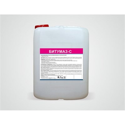 Битумаз-С - средство удаления известковых отложений (20 л) - фото 32597