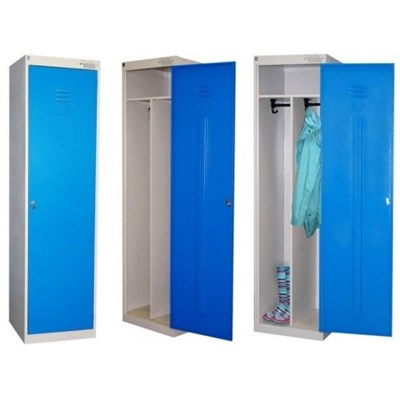 Металлический шкаф для одежды сборный Металл-Завод ШРЭК-21-530 (гардербный) - фото 32684