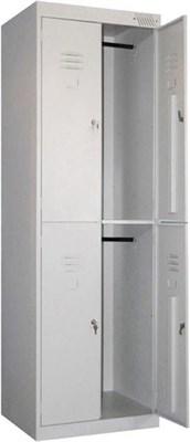 Металлический шкаф для одежды сборный Металл-Завод ШРК-24-600 - фото 32687