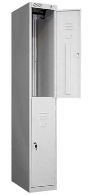Металлический шкаф для одежды модульный сборный Металл-Завод ШРС-12-300 (гардербный) - фото 32691
