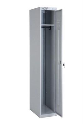 Металлический шкаф для одежды модульный сборный Металл-Завод ШРС-11-400 (гардербный) - фото 32759