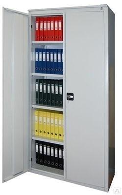 Архивный шкаф с распашными дверями Металл-Завод ALR-1896 - фото 32767