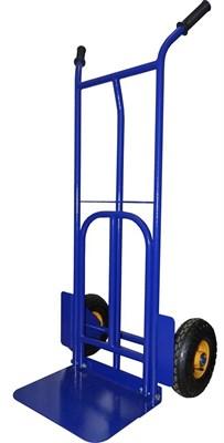 Двухколёсная тележка с откидной платформой НТТ 1823Л, г/п 300 кг (литые колеса) - фото 32888
