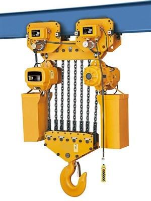 Таль электрическая цепная TOR ТЭЦП (HHBD10-04T) 10,0 т 12 м 380В - фото 33665