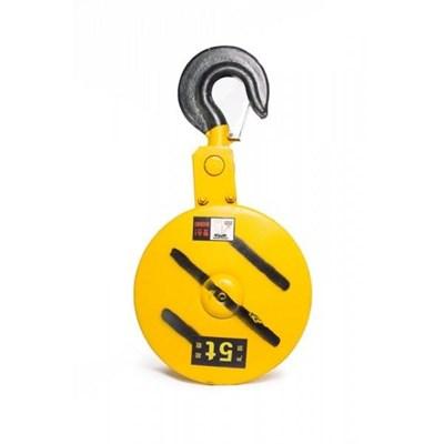 Крюковая подвеска двухблочная для талей электрических TOR CD1 5,0 т - фото 33684