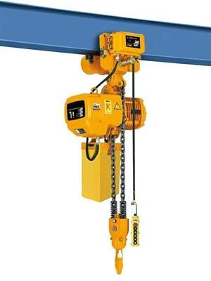 Таль электрическая цепная TOR ТЭЦП (HHBD01-01T) 1,0 т 12 м 380В двухскоростная - фото 33686