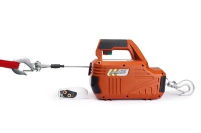 Лебедка электрическая переносная TOR SQ-02 450 кг 4,6 м 220 В с пультом - фото 33696
