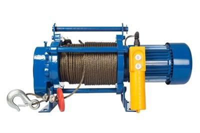Лебедка TOR ЛЭК-300 E21 (KCD) 300 кг, 220 В с канатом 30 м - фото 33699