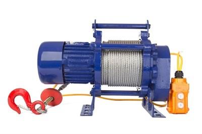 Лебедка TOR ЛЭК-300 E21 (KCD) 300 кг, 380 В с канатом 30 м - фото 33705