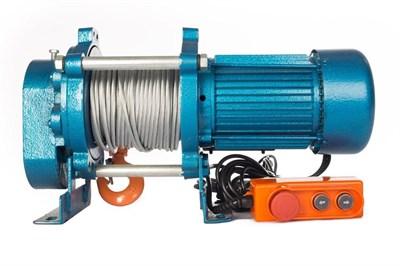 Лебедка TOR ЛЭК-500 E21 (KCD) 500 кг, 380 В с канатом 70 м - фото 33707