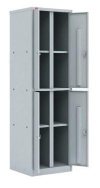Металлический шкаф для документов ПАКС-МЕТАЛЛ ШАМ-24.О (архивный) - фото 33907