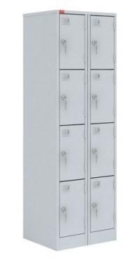 Шкаф металлический для сумок ШРМ-28-М модульный - фото 33933