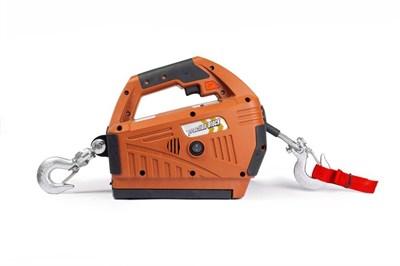 Лебедка электрическая переносная TOR SQ-05 450 кг 4,6 м с аккумулятором 24 В - фото 33962