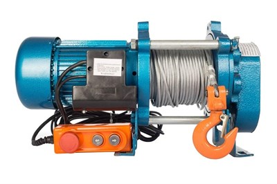 Лебедка TOR ЛЭК-750 E21 (KCD) 750 кг, 380 В с канатом 70 м - фото 33970