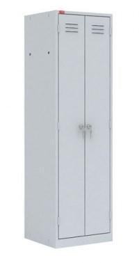 Двухсекционный металлический шкаф ПАКС-МЕТАЛЛ ШРМ-22 У - фото 34249