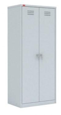 Двухсекционный металлический шкаф ПАКС-МЕТАЛЛ ШРМ-22/800 У (гардербный) - фото 34251