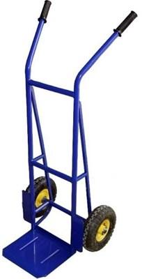 Двухколёсная тележка КГ-200 ПУ, г/п 200 кг (пневмо/усиленные колеса) - фото 34263