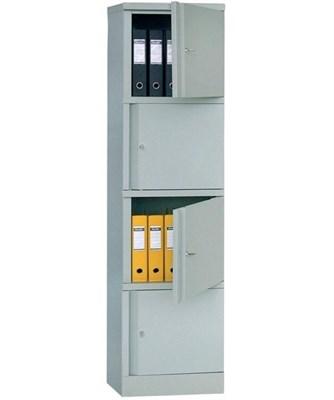 Шкаф металлический для документов Практик AM-1845/4 - фото 34355