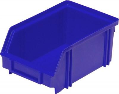 Ящик п/п 170х105х75 цв. синий (7968)