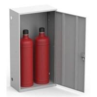 Шкаф металлический для двух газовых баллонов Металл-Завод ШГР ШГР 50-2