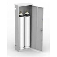 Шкаф металлический для двух кислородных баллонов Металл-Завод ШГР 40-2