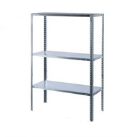 Стеллаж металлический СМ-900 250х100х50 см, 3 полки, г/п 900 кг