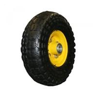 Колесо промышленное пневматическое камерное с симметричной ступицей PR1800-4/5 (усиленное, 4-х слойная резина)