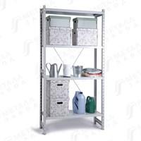 СКУ стеллаж 1244 (2485) металлический, 2485х1266х400 мм, полок: 4 шт.
