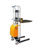 Штабелер гидравлический с электроподъемом TOR BDDJ-1300, г/п 400 кг, 90-1300 мм