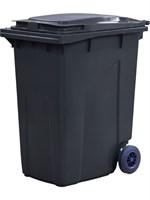Мусорный контейнер п/э 360л. цв. серый (МКТ 360 серый)