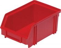Ящик п/п 170х105х75 цв. красный (7968)