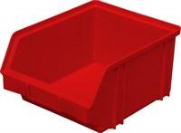 Ящик п/п 290х230х150 цв. красный (7962)