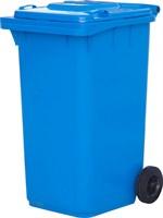 Мусорный контейнер п/э 240л. цв. синий (МКТ 240 синий)