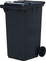 Мусорный контейнер п/э 240л. цв. серый (МКТ 240 серый)