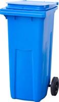 Мусорный контейнер п/э 120л. цв. синий (МКТ 120 синий)