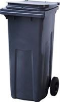 Мусорный контейнер п/э 120л. цв. серый (МКТ 120 серый)