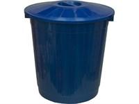 Бак с крышкой (50 л) синий (МБ-50 синий с крышкой)