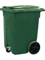 Мусорный контейнер на 3-х колёсах (370 л) зеленый (MGB-370 (3) зеленый)